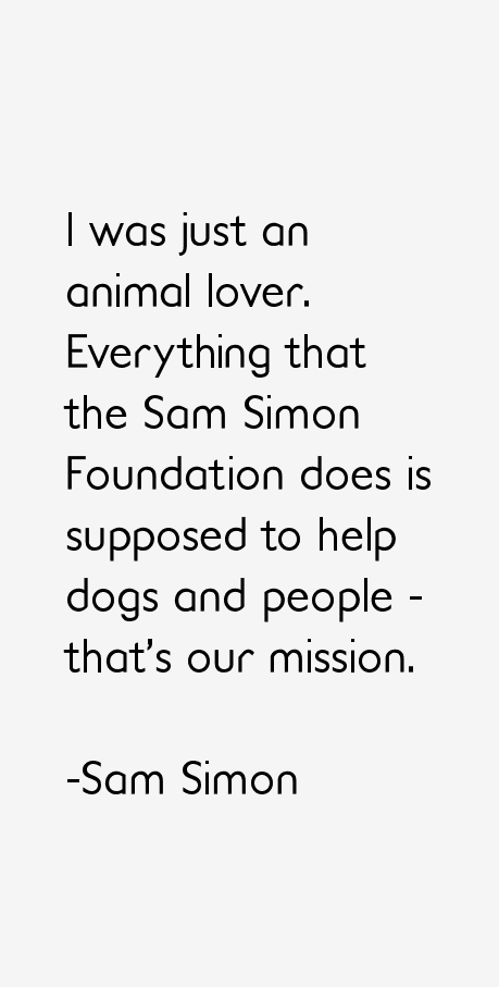 Sam Simon Quotes