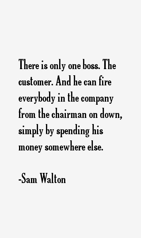 Sam Walton Quotes