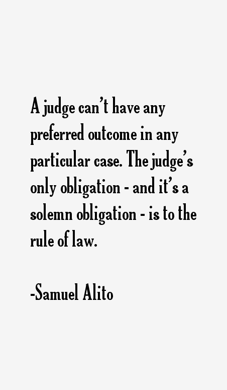 Samuel Alito Quotes