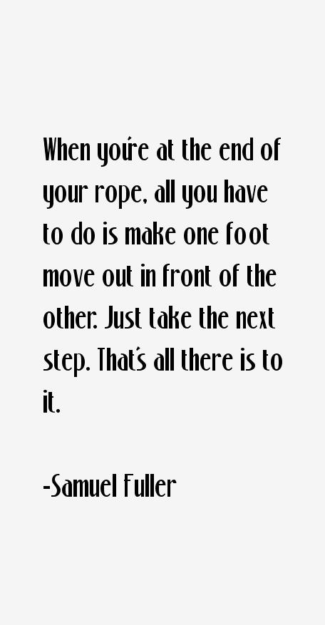 Samuel Fuller Quotes