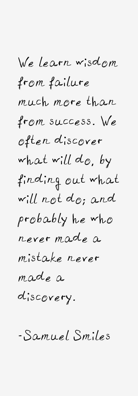 Samuel Smiles Quotes