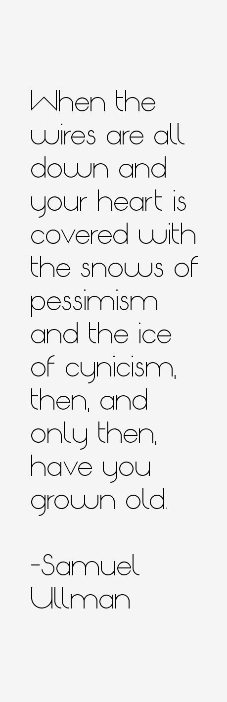 Samuel Ullman Quotes