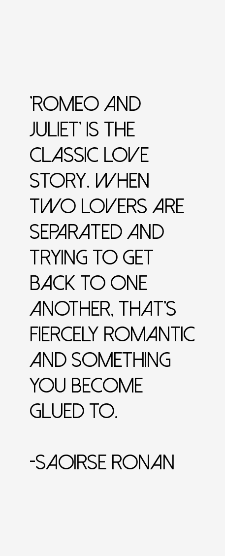 Saoirse Ronan Quotes