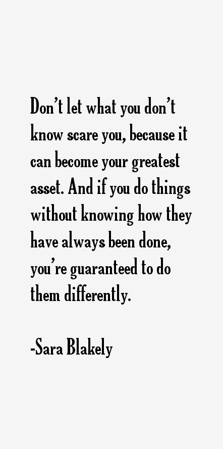 Sara Blakely Quotes
