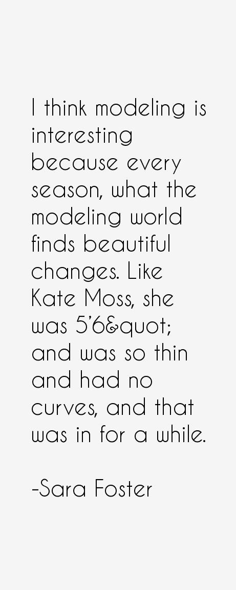 Sara Foster Quotes