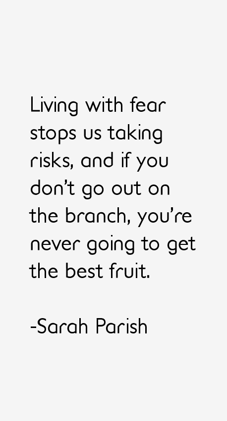 Sarah Parish Quotes