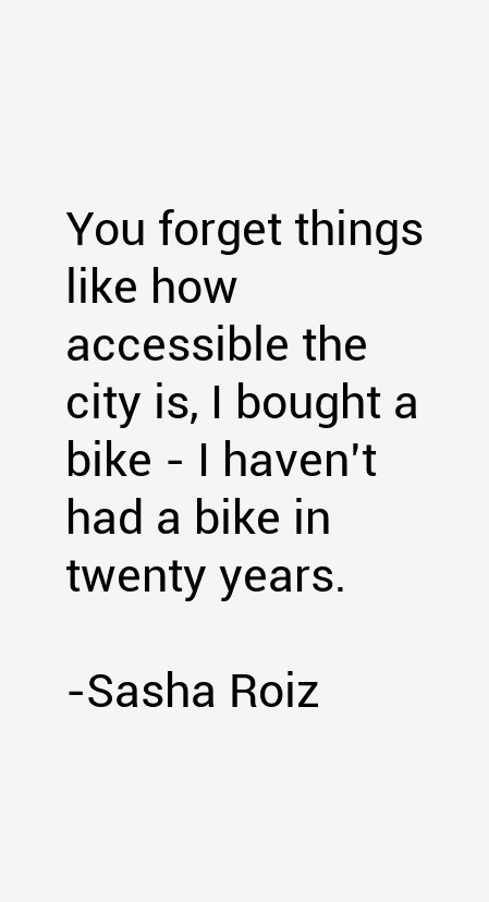 Sasha Roiz Quotes