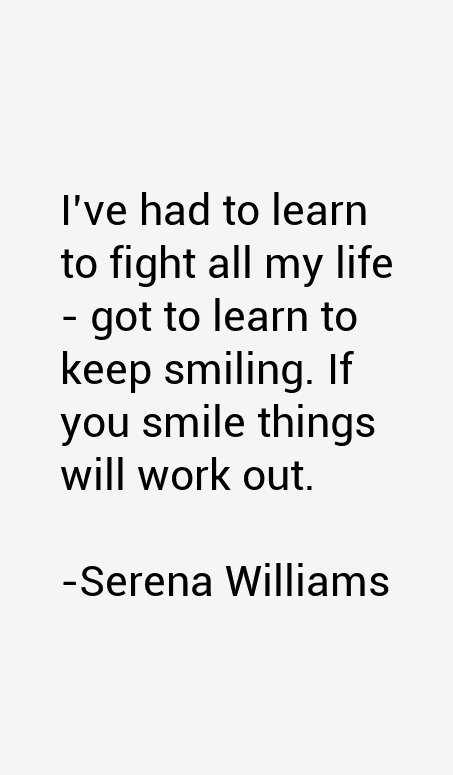 Serena Williams Quotes