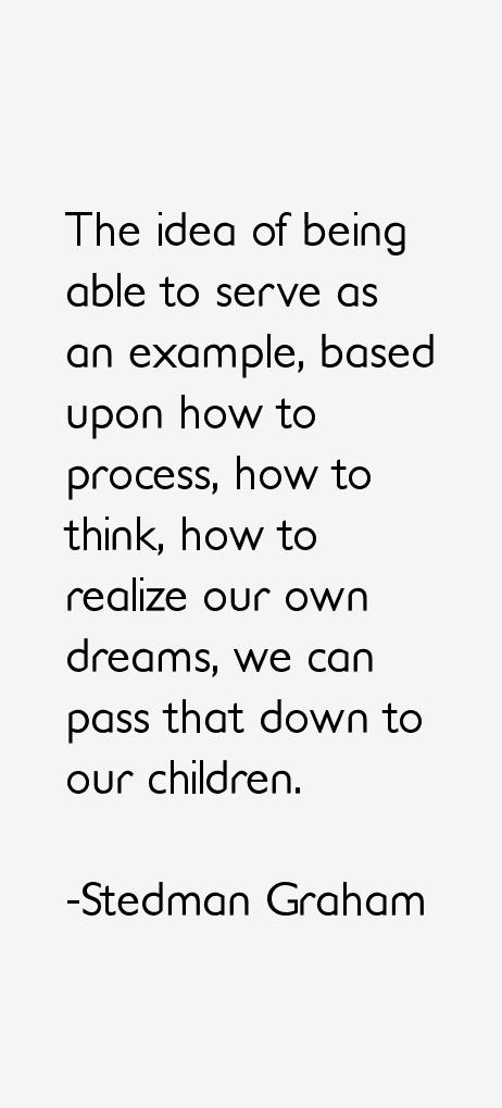 Stedman Graham Quotes