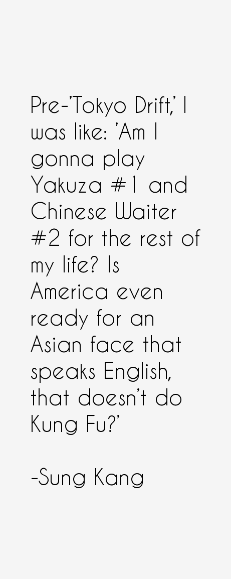Pre-'Tokyo Drift,' I was like: 'Am I gonna play Yakuza #1 and ...