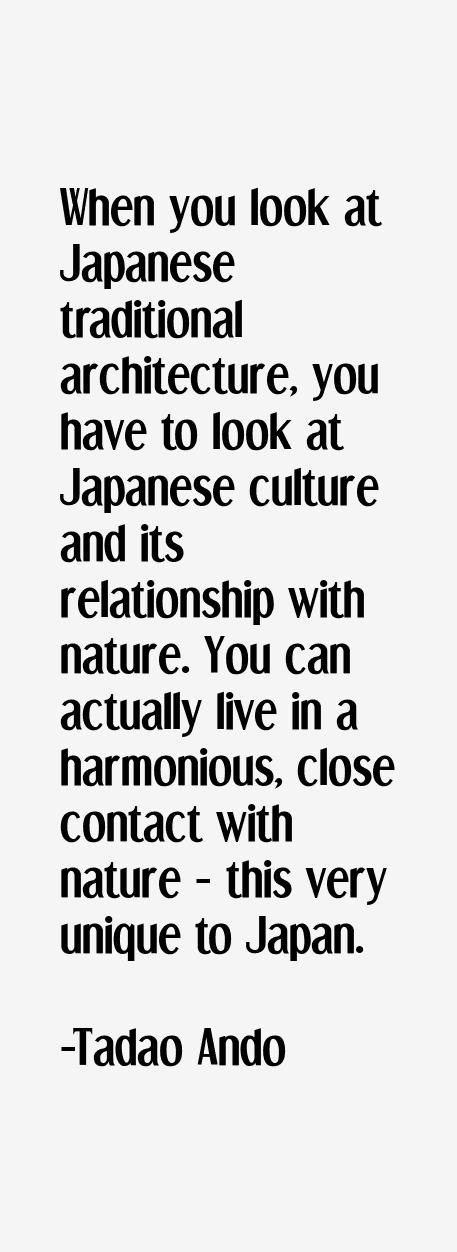 Tadao Ando Quotes & Sayings