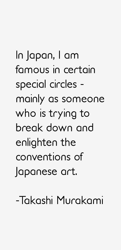 Takashi Murakami Quotes