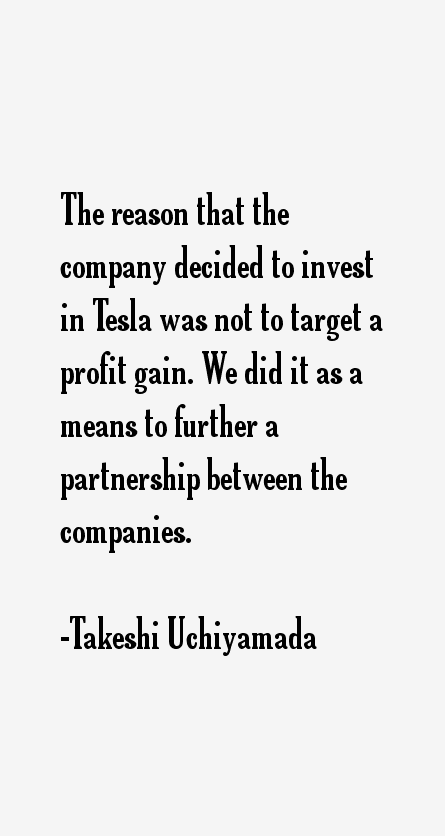 Takeshi Uchiyamada Quotes