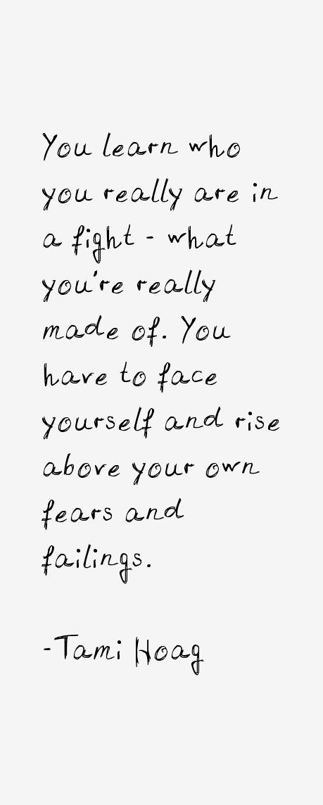Tami Hoag Quotes