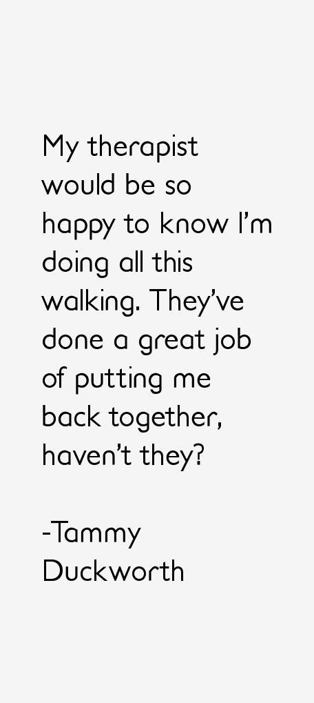 Tammy Duckworth Quotes