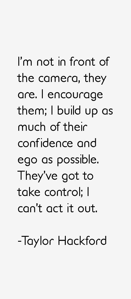 Taylor Hackford Quotes