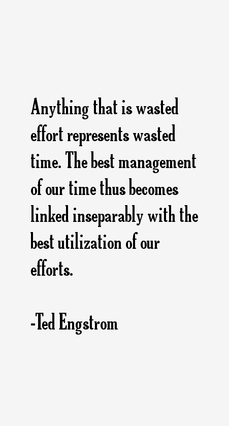 Ted Engstrom Quotes