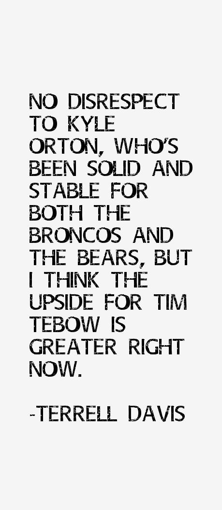 Terrell Davis Quotes