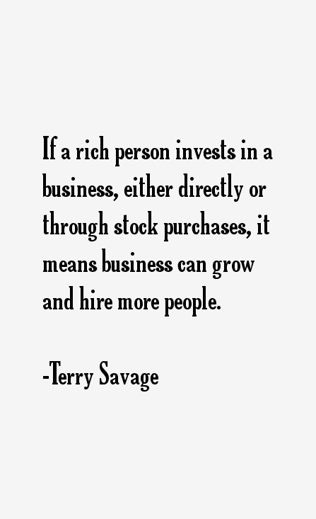 Terry Savage Quotes