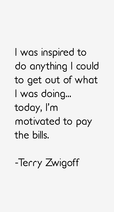 Terry Zwigoff Quotes