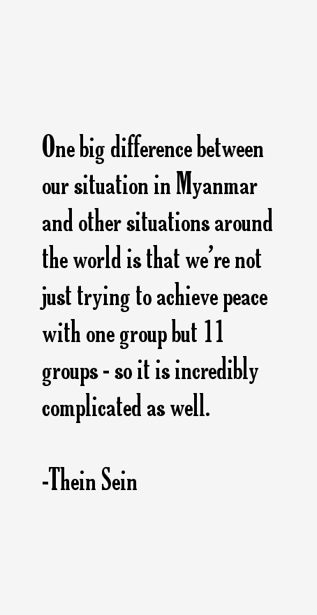 Thein Sein Quotes