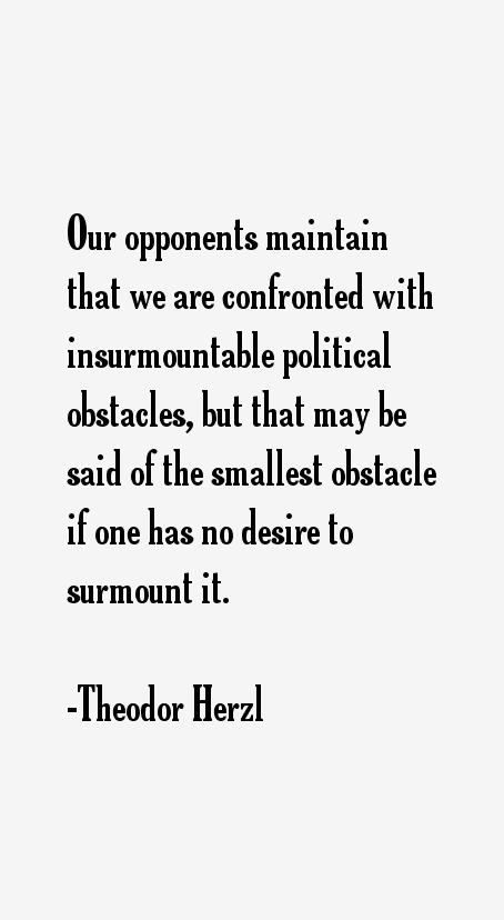 Theodor Herzl Quotes