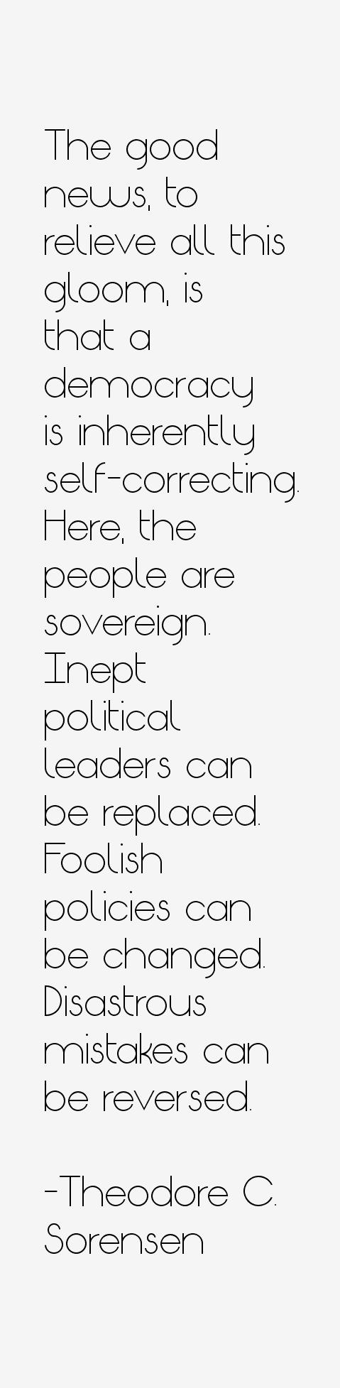Theodore C. Sorensen Quotes