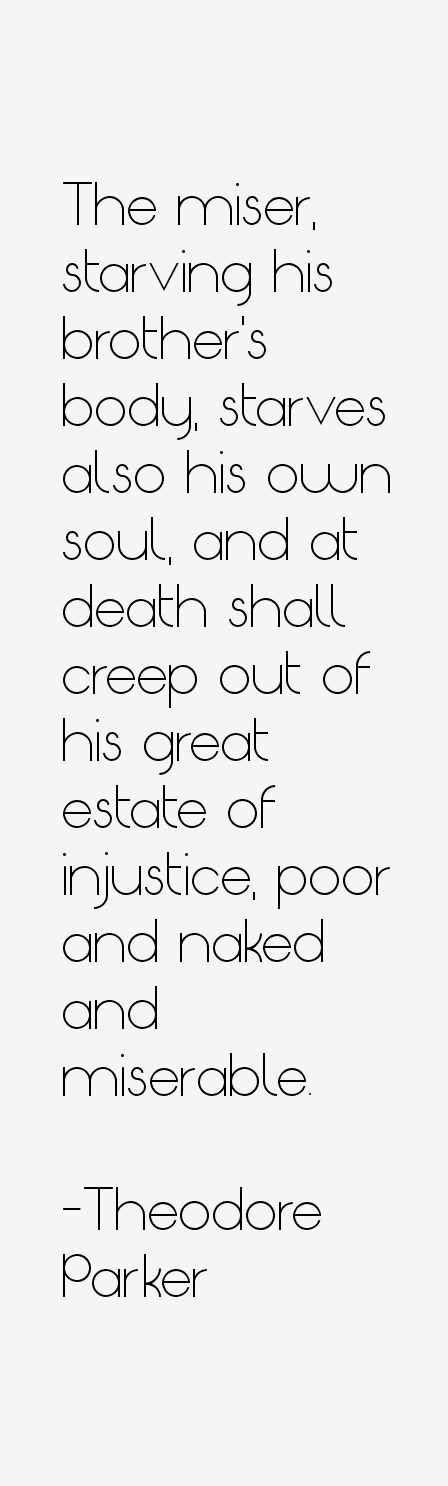 Theodore Parker Quotes