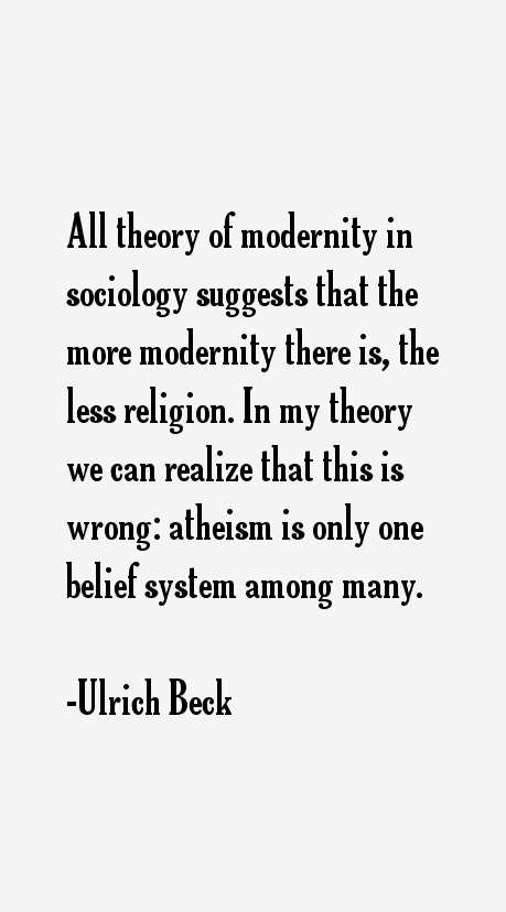 Ulrich Beck Quotes