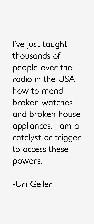 Uri Geller Quotes