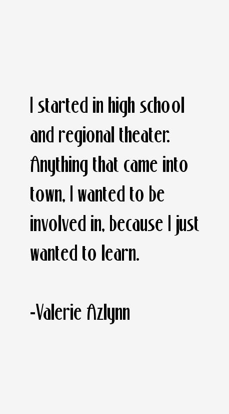 Valerie Azlynn Quotes