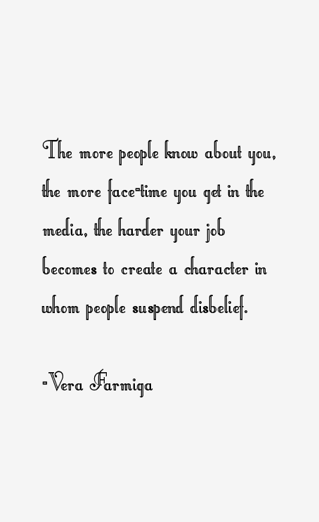 Quotes by Vera Farmiga... Vera Farmiga Quotes