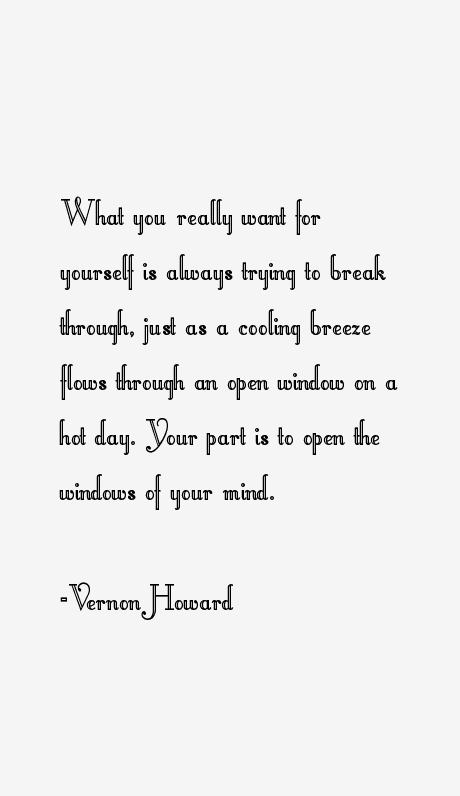 Vernon Howard Quotes