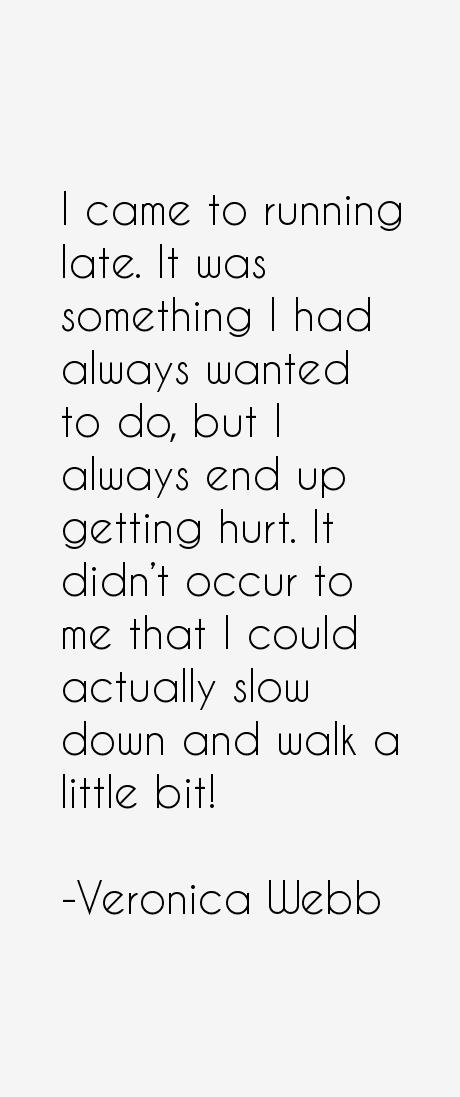 Veronica Webb Quotes