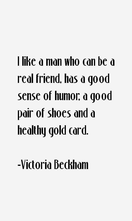 Victoria Beckham Quotes