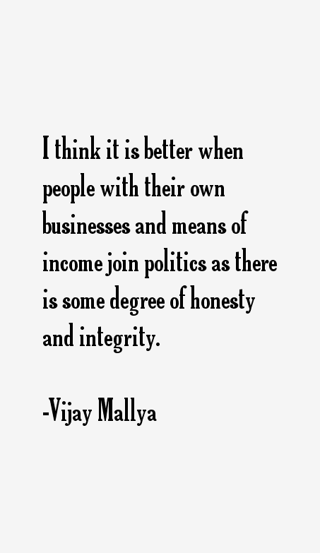 Vijay Mallya Quotes