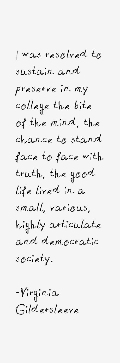Virginia Gildersleeve Quotes