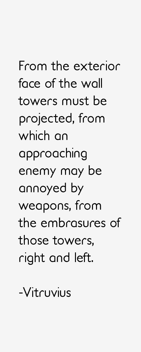 Vitruvius Quotes