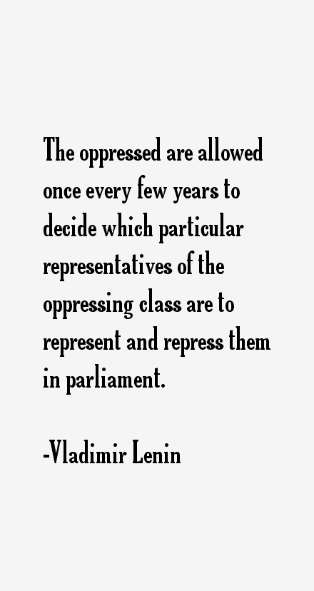 Vladimir Lenin Quotes