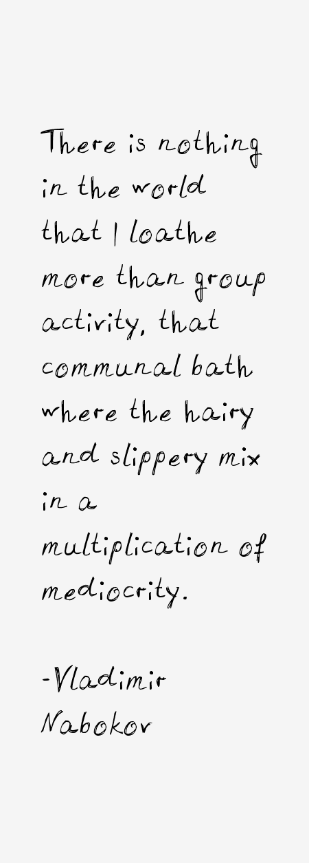 Vladimir Nabokov Quotes
