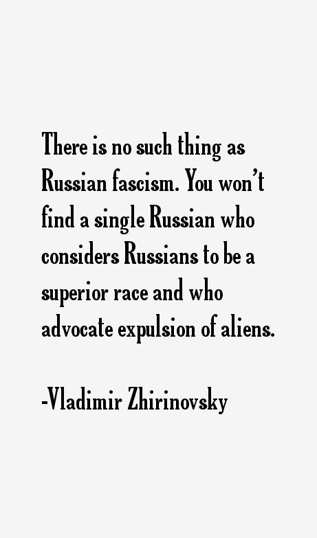 Vladimir Zhirinovsky Quotes