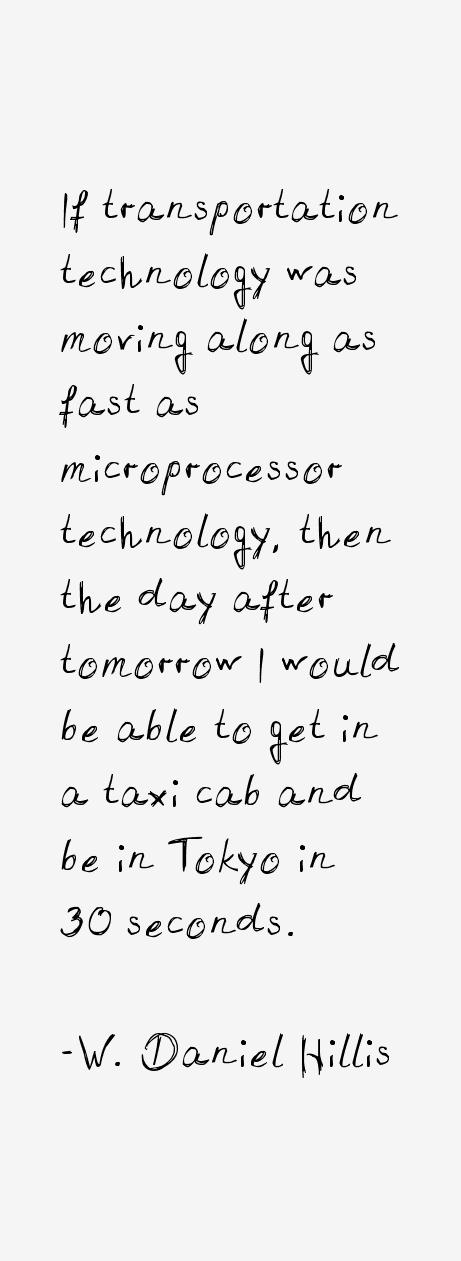 W. Daniel Hillis Quotes