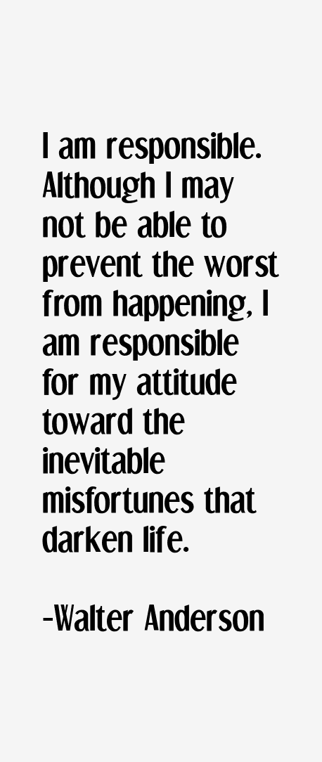 Walter Anderson Quotes