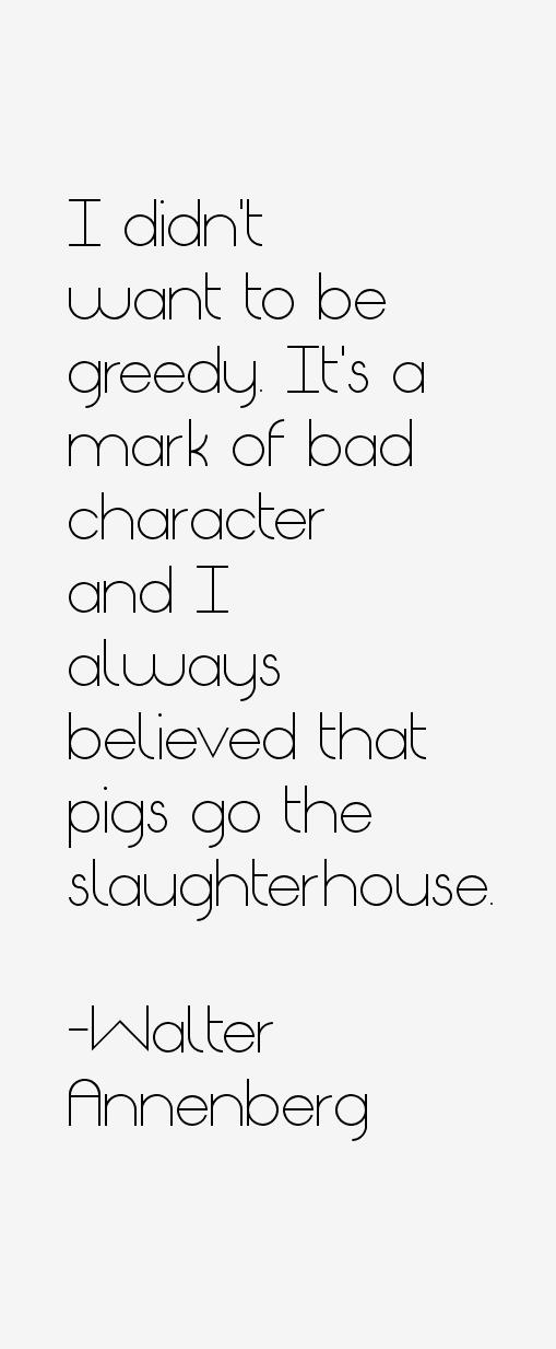 Walter Annenberg Quotes