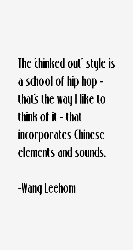 Wang Leehom Quotes