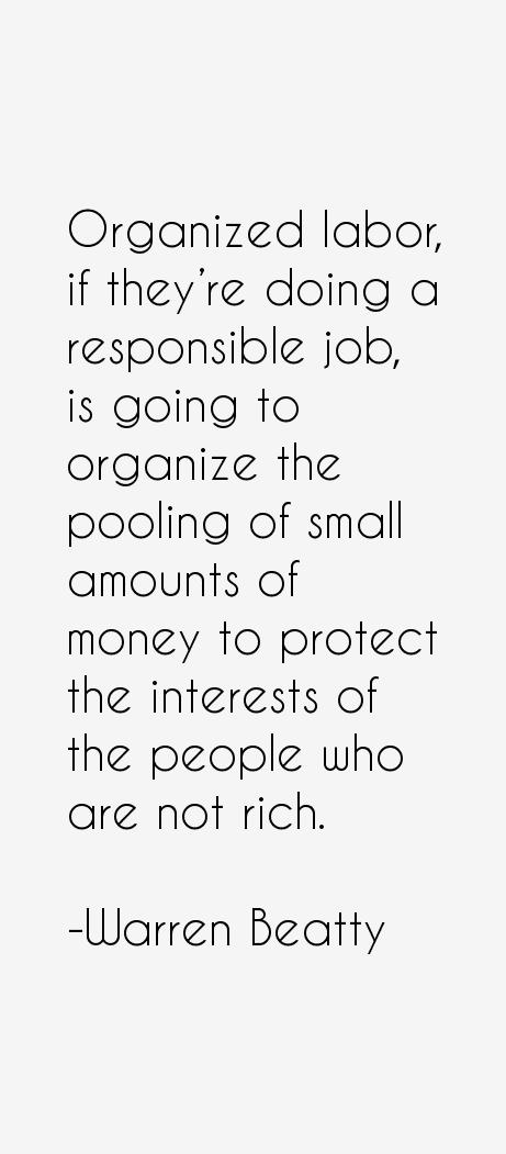 Warren Beatty Quotes