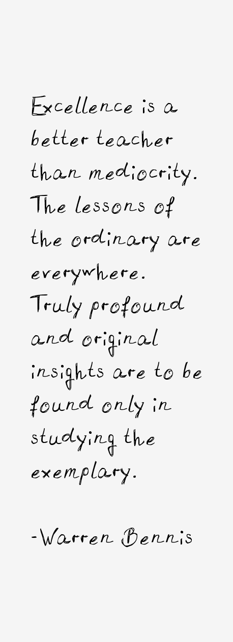 Warren Bennis Quotes