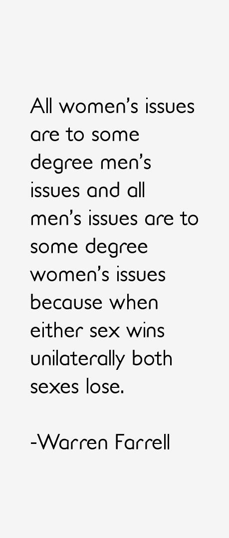 Warren Farrell Quotes