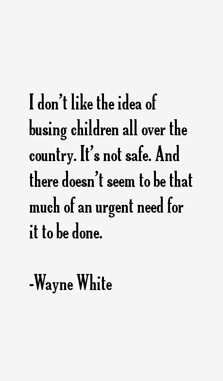 Wayne White Quotes