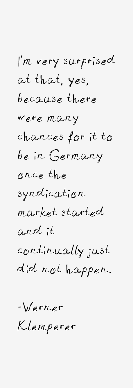 Werner Klemperer Quotes